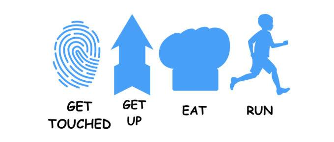 Get Up – Eat – Run